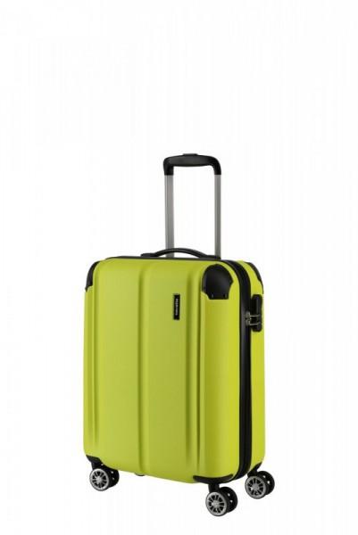 Travelite City 4w S palubní cestovní kufr 55x40x20 cm 40 l Lemon