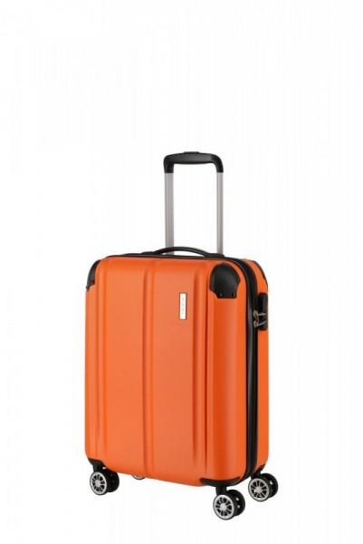 Travelite City 4w S palubní cestovní kufr 55x40x20 cm 40 l Orange