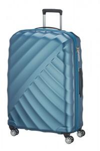 Titan Velký cestovní kufr Shooting Star 4w L Petrol 109 l