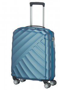 Titan Kabinový cestovní kufr Shooting Star 4w S Petrol 40 l