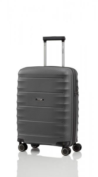 Titan Kabinový cestovní kufr Highlight 4w S Anthracite 38 l