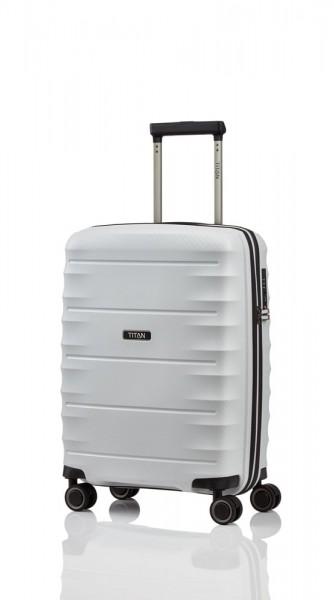 Titan Kabinový cestovní kufr Highlight 4w S Off-white 38 l