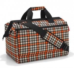 Cestovní taška Reisenthel Allrounder L pocket Glencheck red
