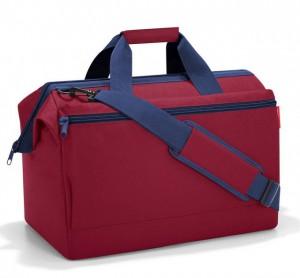 Cestovní taška Reisenthel Allrounder L pocket Dark ruby
