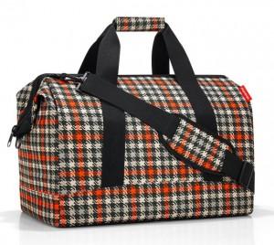 Cestovní taška Reisenthel Allrounder L Glencheck red