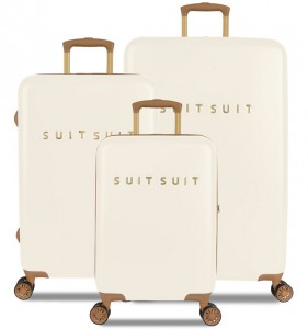 SUITSUIT TR-7104/3 Fab Seventies Antique White