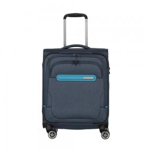 Travelite Kabinový cestovní kufr Madeira 4w S Navy/Blue 37 l