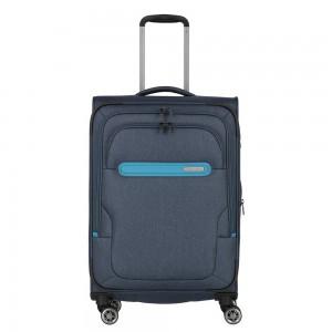 Travelite Cestovní kufr Madeira M Navy/Blue 60/71 l
