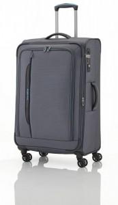 Travelite CrossLITE 4w L cestovní kufr TSA 77 cm 102/115 l Anthracite