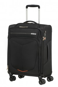 American Tourister Kabinový cestovní kufr Summerfunk Bizz Smart Spinner 78G 39,5 l – černá