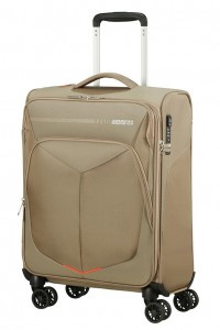 American Tourister Kabinový cestovní kufr Summerfunk Strict Spinner 78G 40 l – béžová