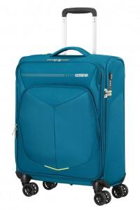 American Tourister Kabinový cestovní kufr Summerfunk Strict Spinner 78G 40 l – modrá