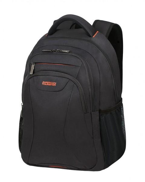 """American Tourister Batoh At Work Laptop Backpack 33G 25 l 15.6"""" – černá/oranžová"""