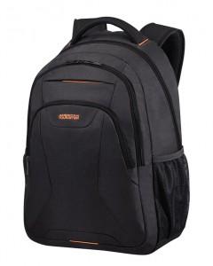 """American Tourister Batoh At Work Laptop Backpack 33G 34 l 17.3"""" – černá/oranžová"""