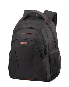 """American Tourister Batoh At Work Laptop Backpack 33G 20,5 l 13.3""""-14.1"""" – černá/oranžová"""
