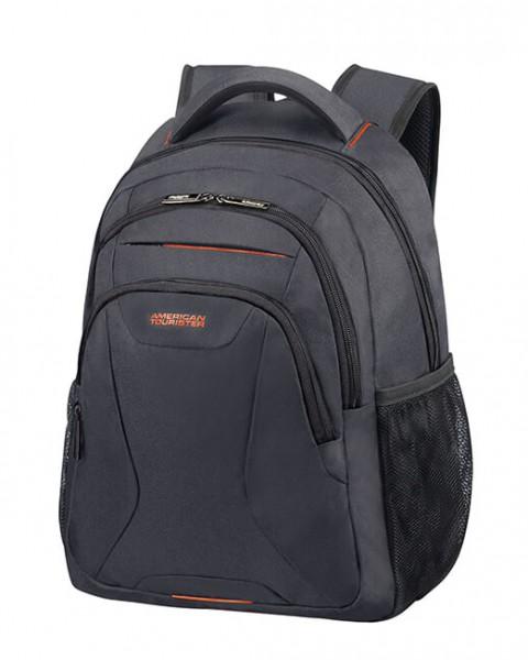 """American Tourister Batoh At Work Laptop Backpack 33G 20,5 l 13.3""""-14.1"""" – šedá/oranžová"""