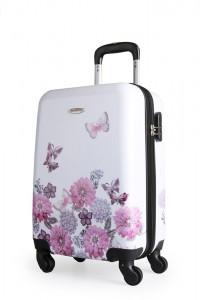 Borderline Kabinový cestovní kufr JB2027 35 l – bílá