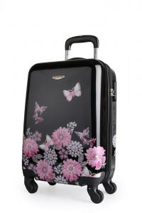 Borderline Kabinový cestovní kufr JB2027 35 l – černá