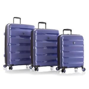 Heys Metallix Cobalt Blue S,M,L – sada 3 kufrů