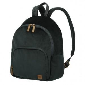 Titan Barbara Velvet Backpack Forest Green
