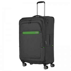 Travelite Madeira L Anthracite/Green