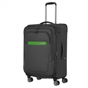 Travelite Madeira M Anthracite/Green
