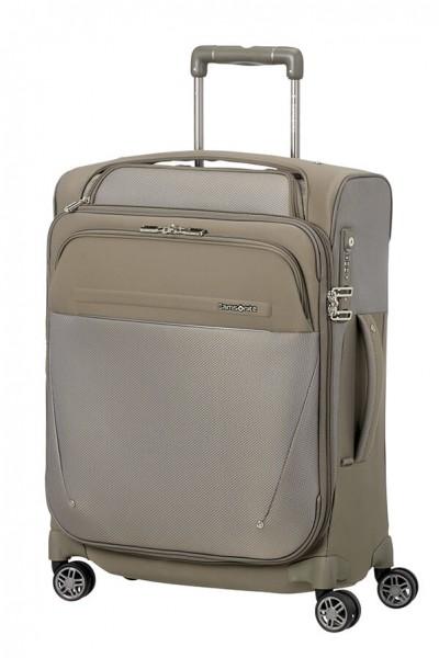 Samsonite Kabinový cestovní kufr B-Lite Icon Spinner EXP Toppocket CH5 39/44 l – béžová