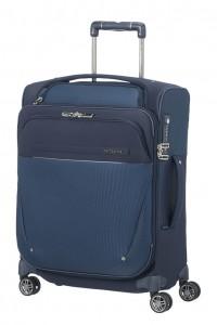 Samsonite Kabinový cestovní kufr B-Lite Icon Spinner EXP Toppocket CH5 39/44 l – tmavě modrá