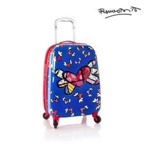 Heys Kabinový dětský kufr Tween Spinner Flying Hearts 39 l