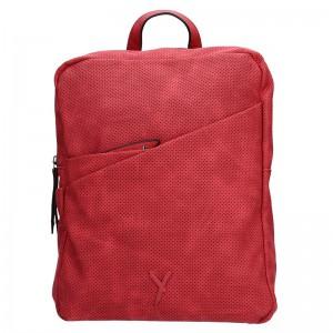Dámský batoh Suri Frey Laura – červená