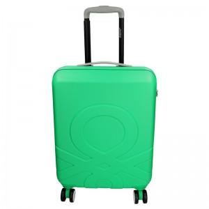 Kabinový cestovní kufr United Colors of Benetton Timis – zelená 34l