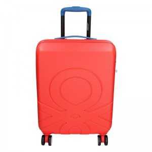 Kabinový cestovní kufr United Colors of Benetton Timis – červená 34l