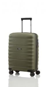 Titan Highlight 4w S palubní cestovní kufr TSA 55x40x20 cm 38 l Khaki