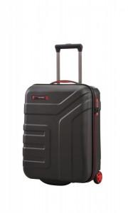 Travelite Vector 2w S palubní cestovní kufr TSA 55x40x20 cm 44 l Black