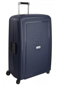 Samsonite Cestovní kufr S'Cure DLX Spinner U44 138 l – modrá