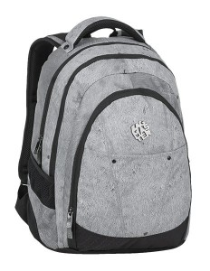 Bagmaster Studentský batoh DIGITAL 9 E GRAY/BLACK 24 l