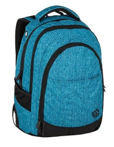 Bagmaster Studentský batoh DIGITAL 9 D BLUE/BLACK 24 l