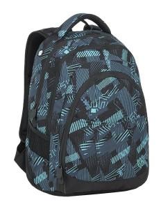 Bagmaster Studentský batoh DIGITAL 9 C PETROL/BLUE/BLACK 24 l