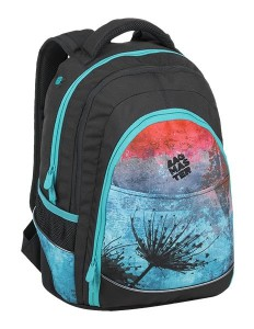 Bagmaster Studentský batoh DIGITAL 9 A BLUE/RED/BLACK 24 l