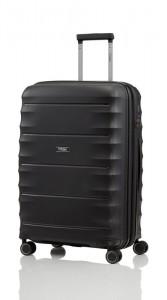Titan Highlight 4w M cestovní kufr TSA 67 cm 73/79 l Black