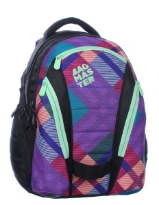 Bagmaster Dívčí studentský batoh BAG 0115 A 23 l
