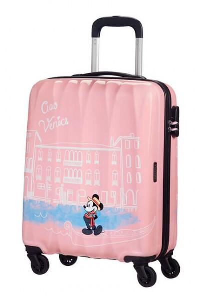 American Tourister Kabinový cestovní kufr Disney Legends Spinner 19C 36 l – Take Me Away Mickey Venice