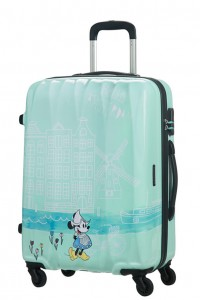 American Tourister Cestovní kufr Disney Legends Spinner 19C 62,5 l – Take Me Away Minnie Amsterdam
