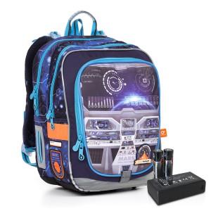 Svítící školní batoh Topgal ENDY 17003 BATTERY AA B