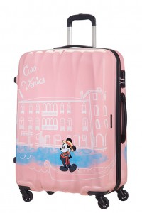 American Tourister Cestovní kufr Disney Legends Spinner 19C 88 l – Take Me Away Mickey Venice