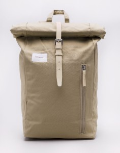 Batoh Sandqvist Dante Beige with Natural Leather Malé (do 20 litrů)