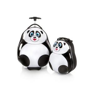 Heys Travel Tots Lightweight Kids Panda – sada batohu a kufru