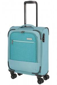 Travelite Arona S palubní cestovní kufr TSA 55 cm Aqua