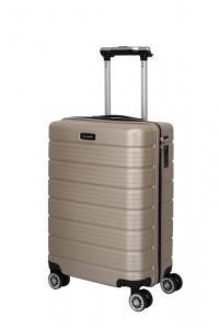 Travelite Soho 4w S palubní cestovní kufr TSA 55 cm 43 l Champagne