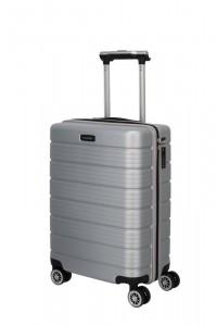 Travelite Soho 4w S palubní cestovní kufr TSA 55 cm 43 l Silver